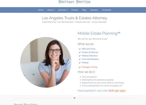 Website Design Attorney