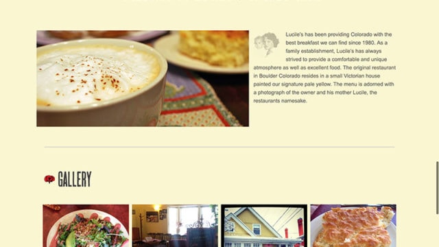 Boulder Website Design for Restaurants