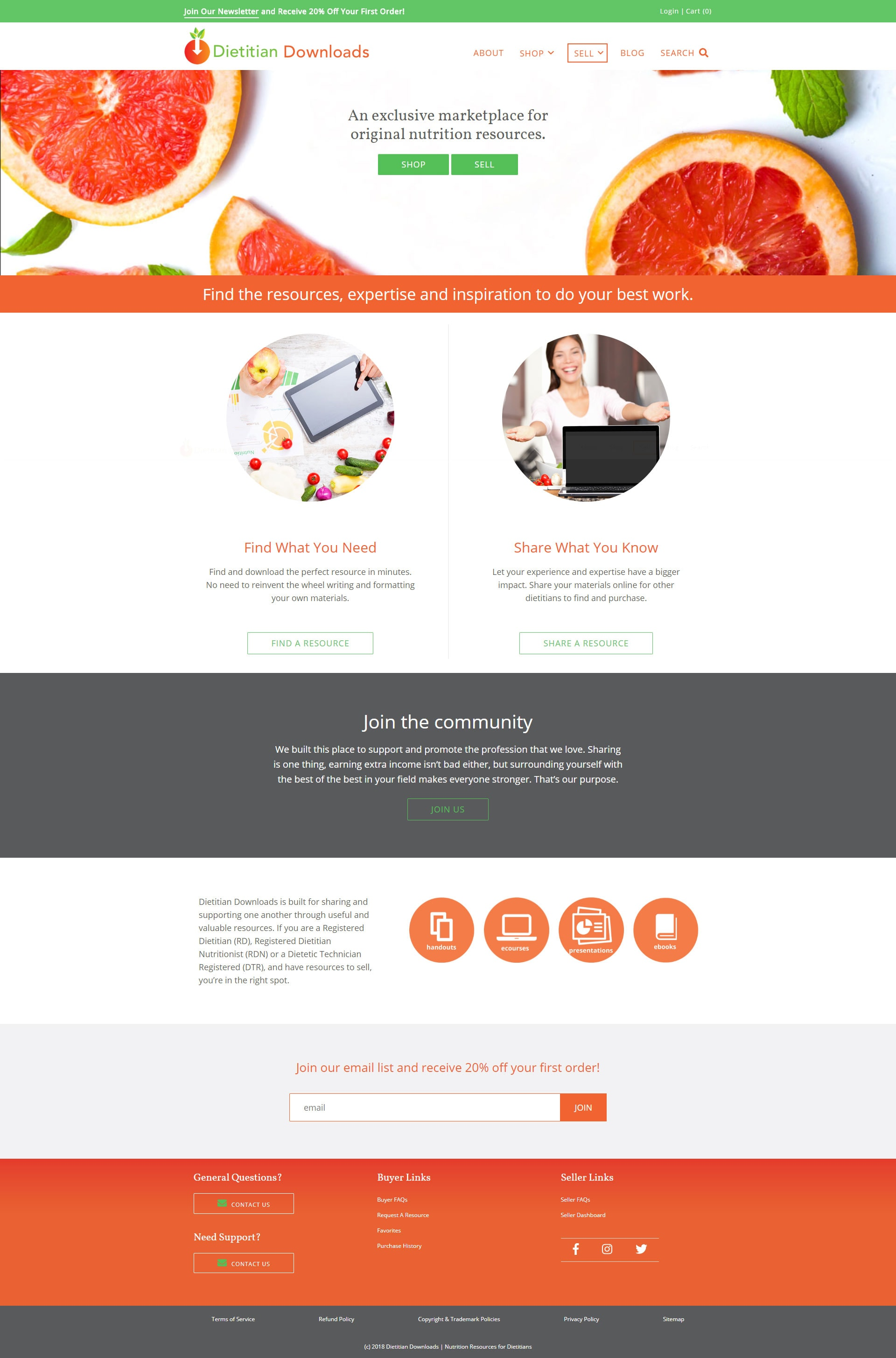 Boulder Web Design for Nutritionist