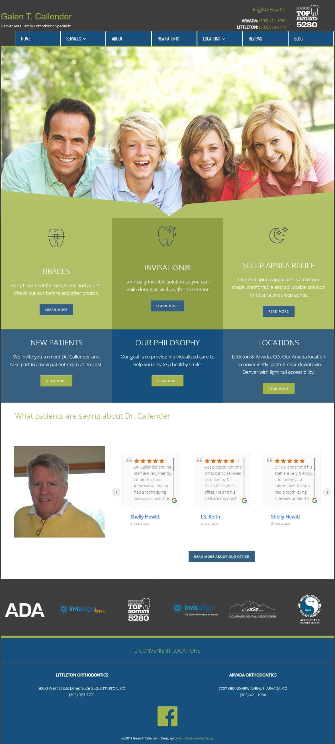 Website Design Orthodontist
